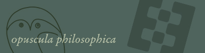 Opuscula philosophica
